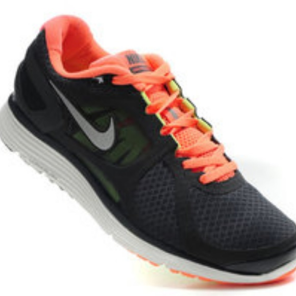 Nike Lunareclipse 2 Running Shoes Grey Orange f590b694e7c38